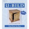U-Bild One-Door Ice Box Woodworking Plan