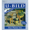 U-Bild Deer Planter Trio Woodworking Plan