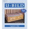 U-Bild Captain's Bed Woodworking Plan