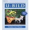 U-Bild Donkey Cart Planter Woodworking Plan