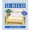 U-Bild Four Poster Bed Woodworking Plan