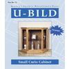 U-Bild Small Curio Cabinet Woodworking Plan