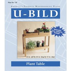 U-Bild Plant Table Woodworking Plan