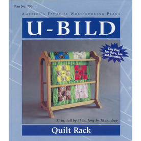 U-Bild Quilt Rack Woodworking Plan