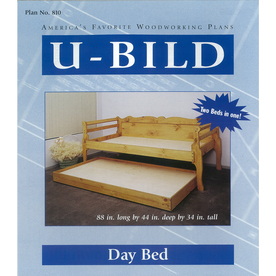 U-Bild Day Bed Woodworking Plan