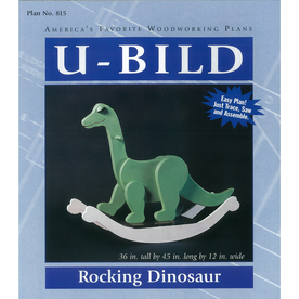 U-Bild Rocking Dinosaur Woodworking Plan