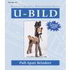 U-Bild Pull-Apart Reindeer Woodworking Plan