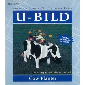 U-Bild Cow Planter Woodworking Plan