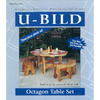 U-Bild Octagon Picnic Table Set Woodworking Plan