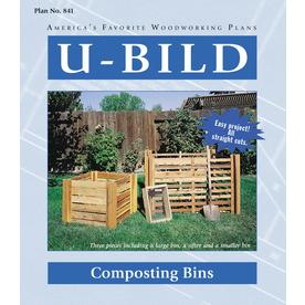 U-Bild Composting Bins Woodworking Plan