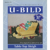 U-Bild Tabletop Sleigh Woodworking Plan