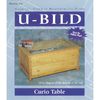 U-Bild Curio Table Woodworking Plan