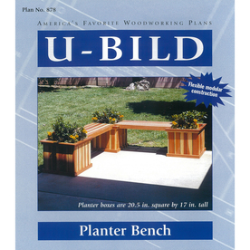 U-Bild Planter Bench Woodworking Plan