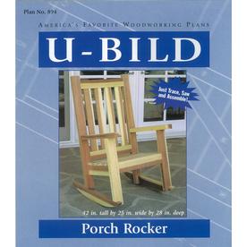 U-Bild Porch Rocker Woodworking Plan