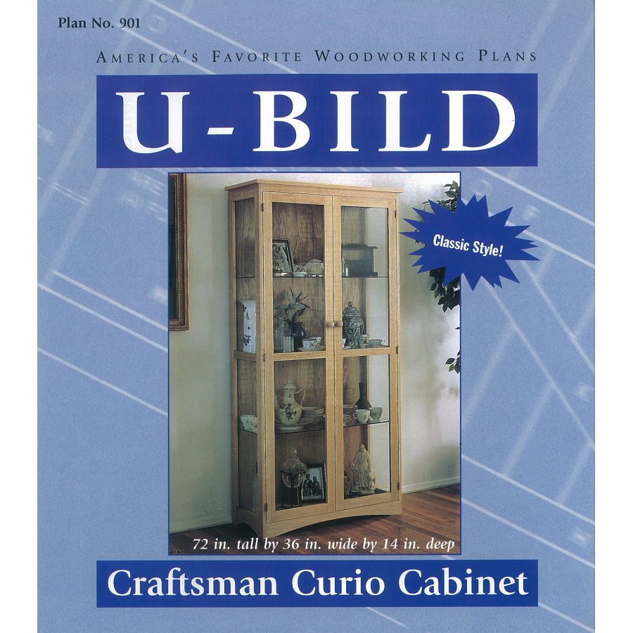 free woodworking plans curio cabinets | Quick Woodworking Projects