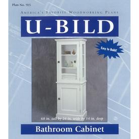 U-Bild Bathroom Cabinet Woodworking Plan