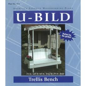 U-Bild Trellis Bench Woodworking Plan