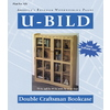 U-Bild Double Craftsman Bookcase Woodworking Plan