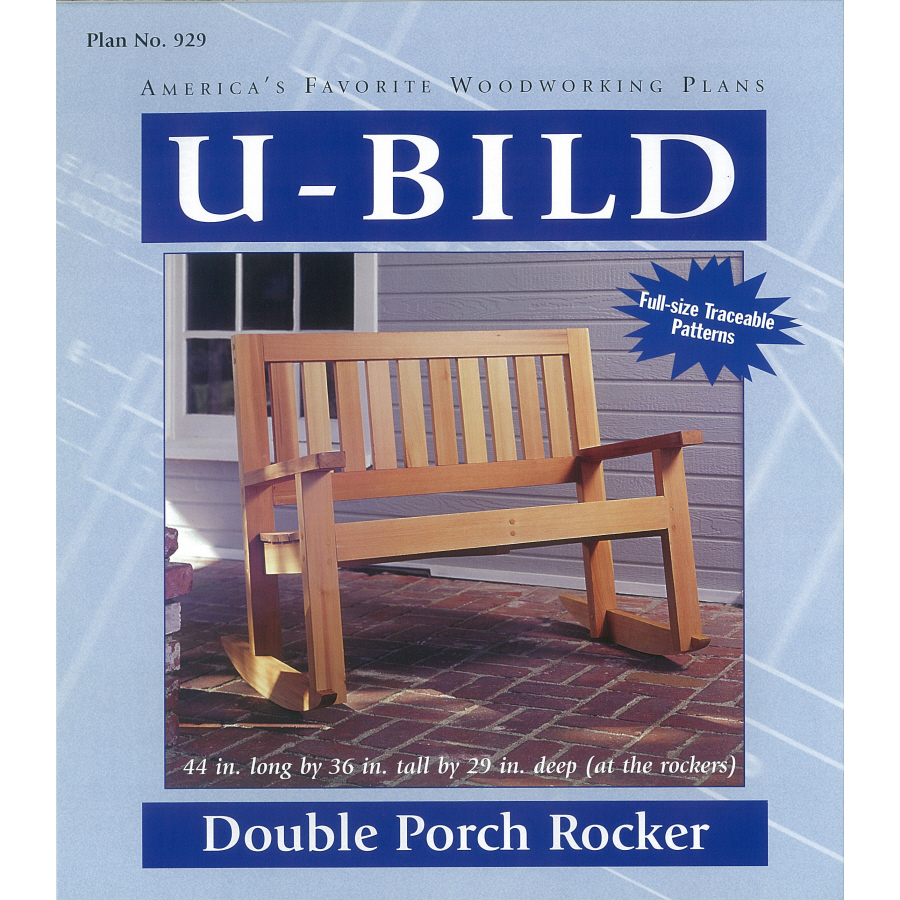 Wood pe hung this is woodworking books lowes for Porch rocker plans