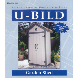 U-Bild Garden Shed Woodworking Plan