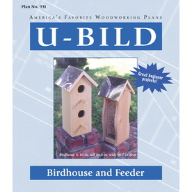 U-Bild Birdhouse and Feeder Woodworking Plan 931 Home Coupons