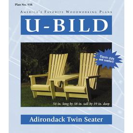 U-Bild Adirondack Twin Seater Woodworking Plan