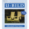 U-Bild Adirondack Twin Seater Woodworking Plan