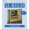 U-Bild Computer Desk Woodworking Plan