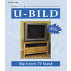 U-Bild Big Screen TV Stand Woodworking Plan