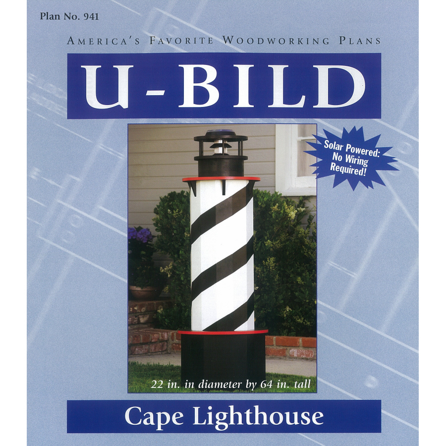 Lighthouse+Woodworking+Plans Shop U-Bild Cape Lighthouse Woodworking ...
