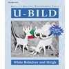 U-Bild White Reindeer and Sleigh Woodworking Plan