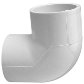 LASCO 1-in dia. 90-Degree PVC Sch 40 Slip Elbow