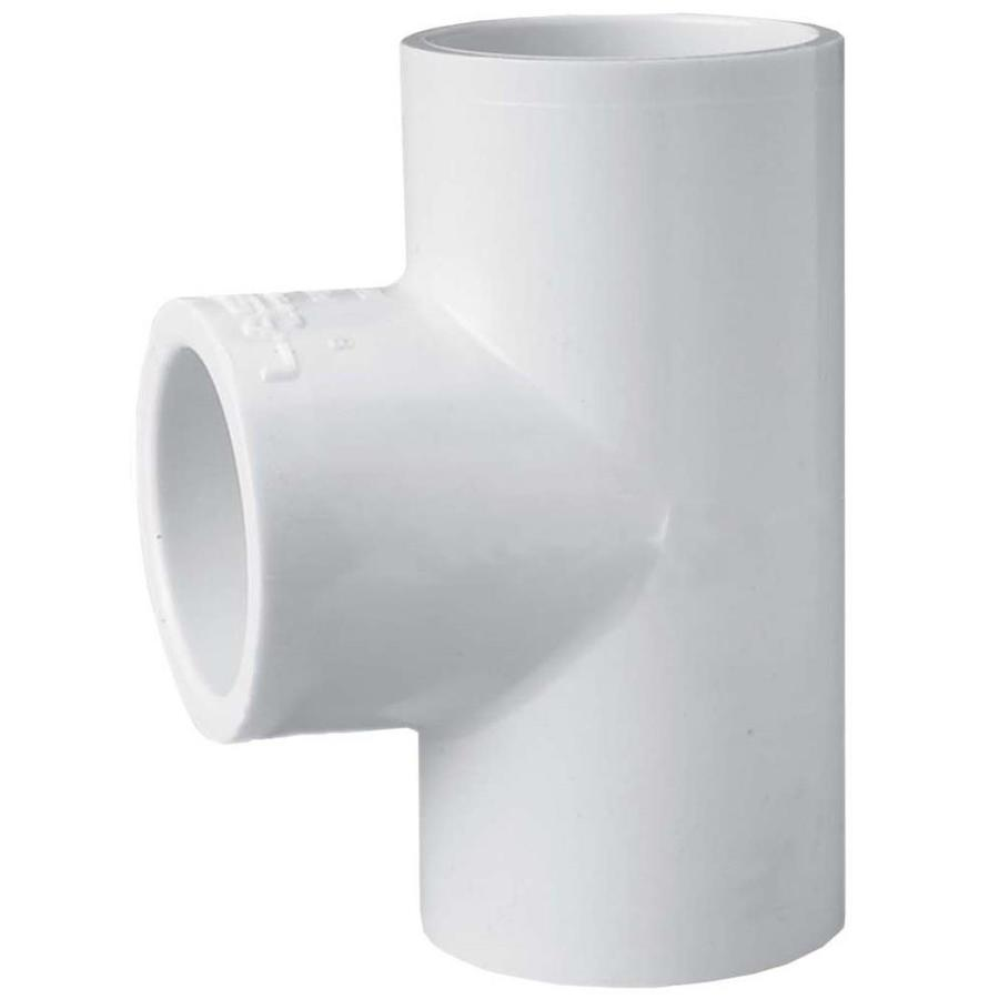 Shop Lasco 3 4 In Dia Degree Pvc Sch 40 Tee At Lowes Com