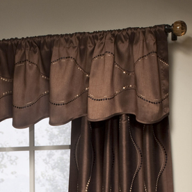allen + roth 17-in  Valance