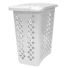 Home Logic 2-Bushel Plastic Clothes Hamper