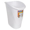 Hefty 24-Quart White Indoor Garbage Can