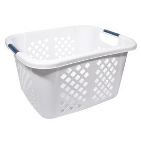 Home Logic 1.5-Bushel Plastic Basket
