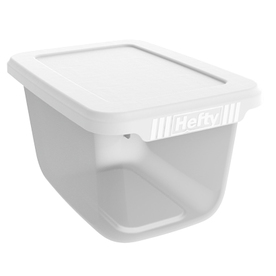Hefty 6.5-Quart Hefty Clear Storage Container
