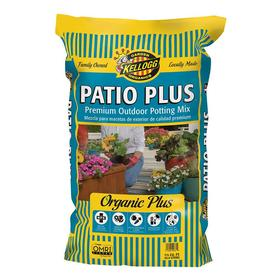 Kellogg 1.5 cu ft Patio Plus All Natural Outdoor Potting Soil