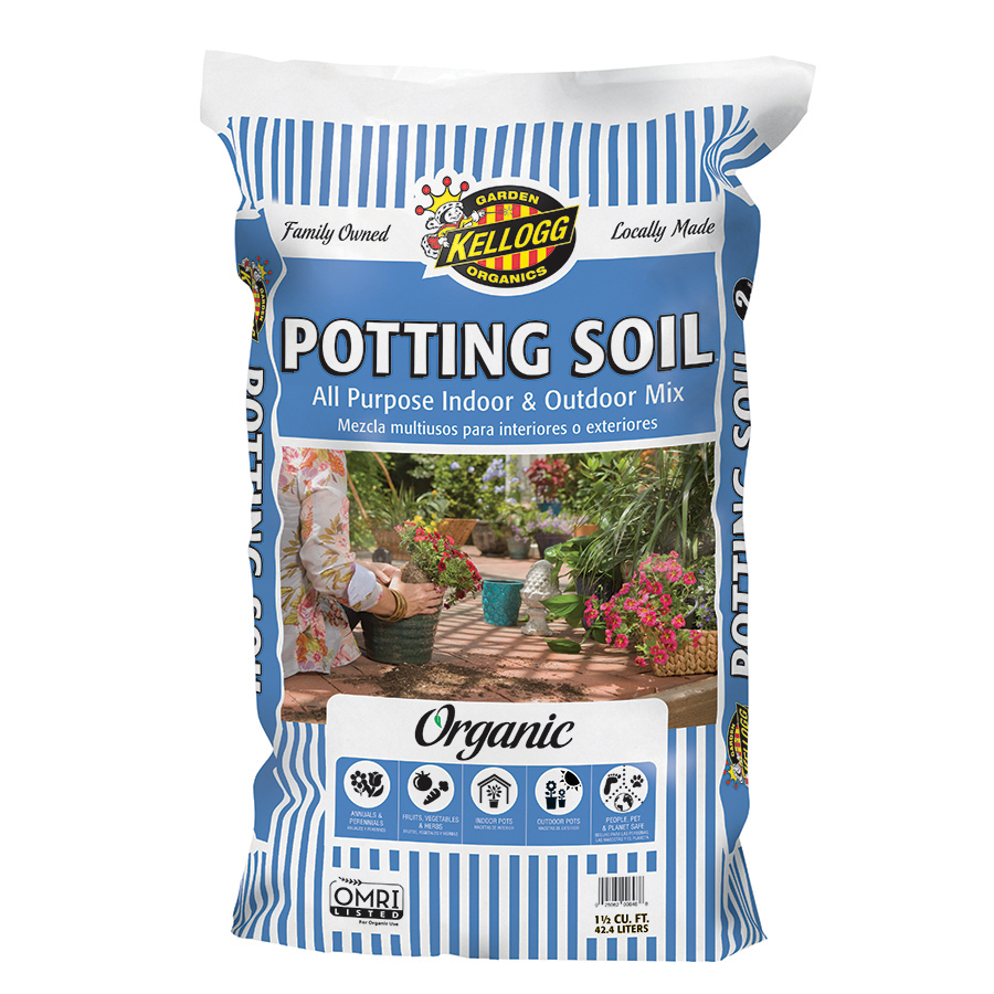 shop kellogg 40 quart organic potting soil at. Black Bedroom Furniture Sets. Home Design Ideas