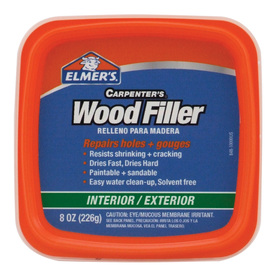 Elmer's 1/2-Pint Interior/Exterior Wood Filler