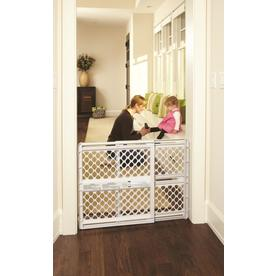 North States Industries, Inc. 42-in x 26-in Plastic Child Safety Gate