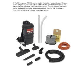 Shop-Vac 2-Peak HP Shop Vacuum
