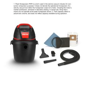 Shop-Vac 2.5-Gallon 2.5-Peak HP Shop Vacuum