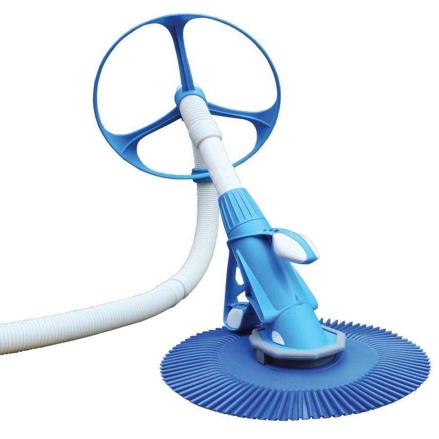 shop aqua ez 16 in suction pool vacuum at