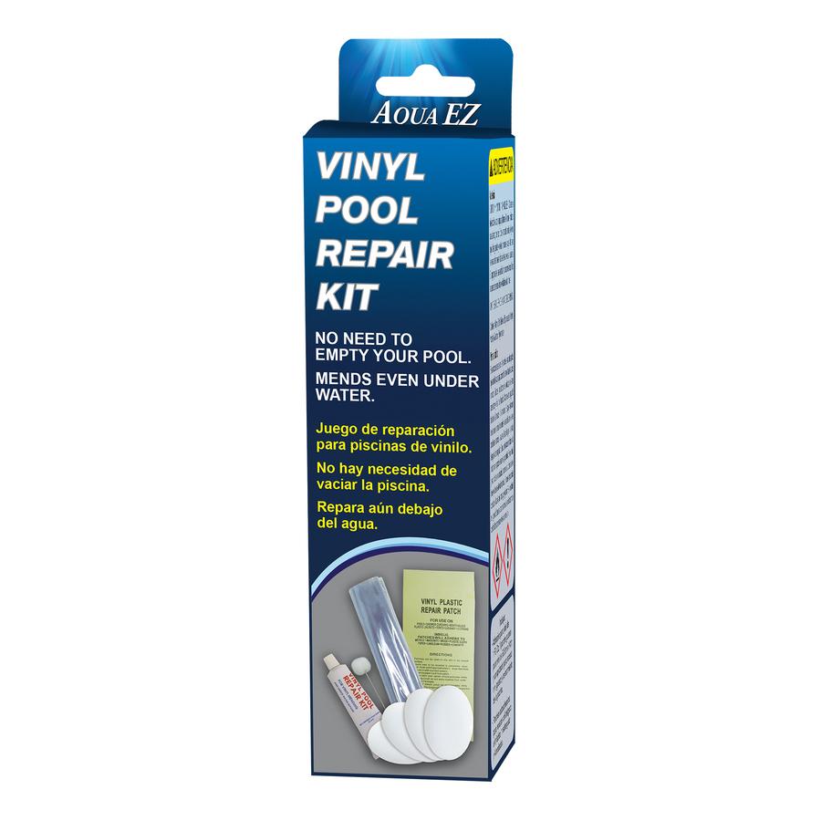 Shop Aqua Ez Pool Vinyl Repair Patch Kit At Lowes Com