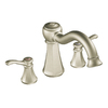 Moen Vestige Brushed Nickel 2-Handle Adjustable Deck Mount Tub Faucet