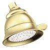 Moen 4.8125-in 2.5-GPM (9.5-LPM) Polished Brass 4-Spray Showerhead