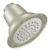 Moen 3.375-in 2.5-GPM (9.5-LPM) Brushed Nickel Showerhead