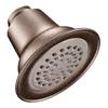 Moen 3.375-in 2.5-GPM (9.5-LPM) Oil-Rubbed Bronze Showerhead